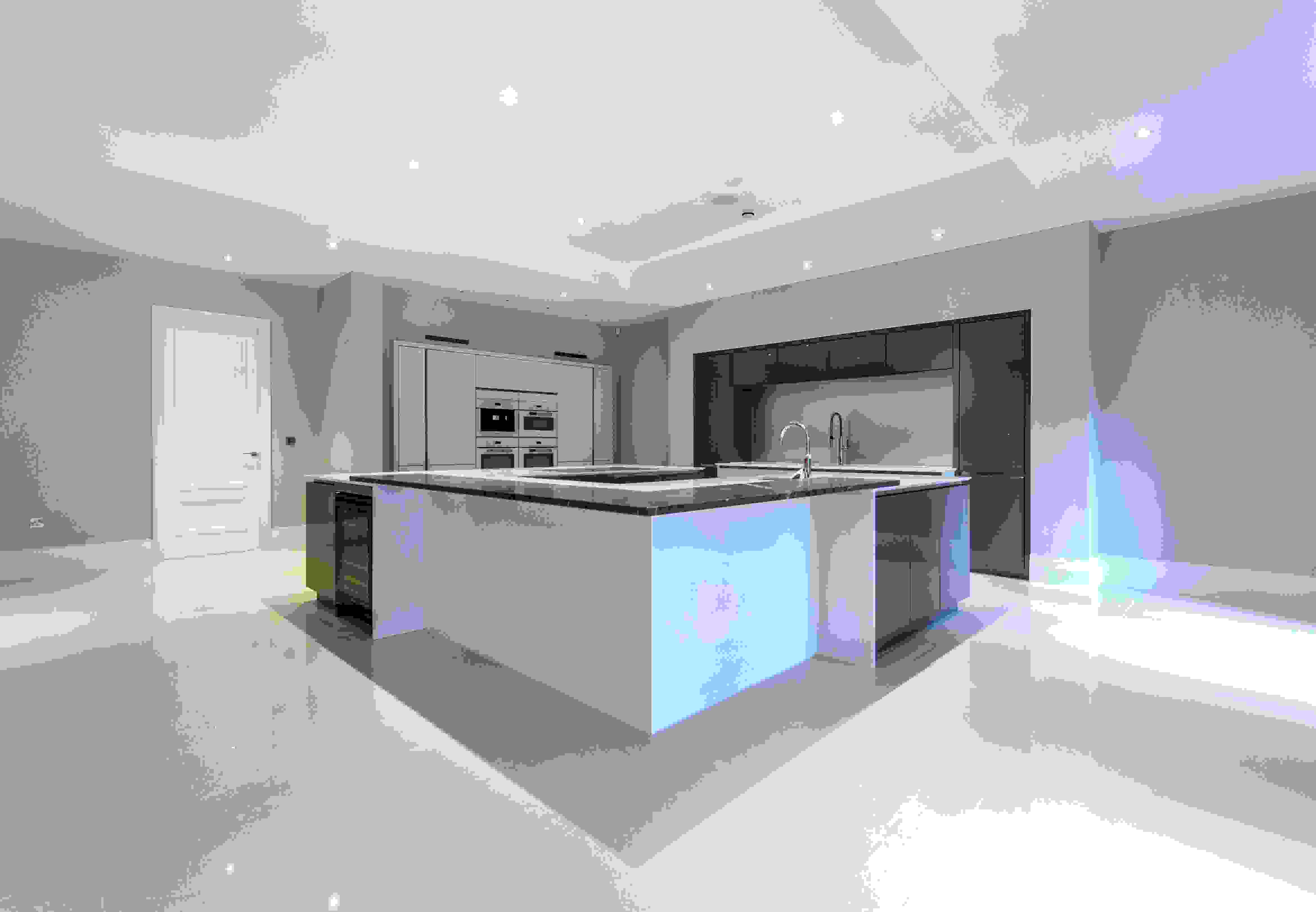 Large Contemporary Kitchen Island