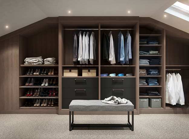 His & Hers Tailored Closet