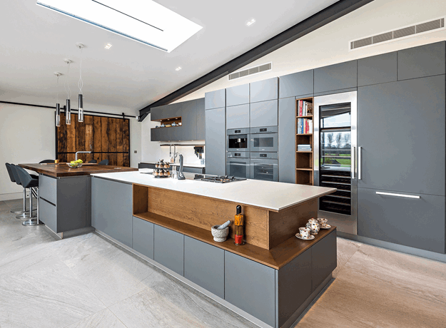 Quirky Contemporary Kitchen, Berkshire